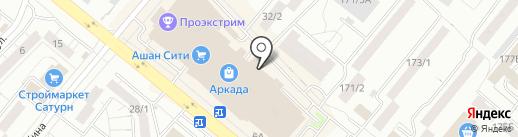 Ригла на карте Уфы