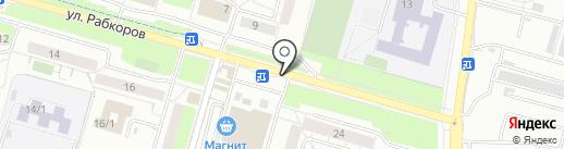 SP online на карте Уфы