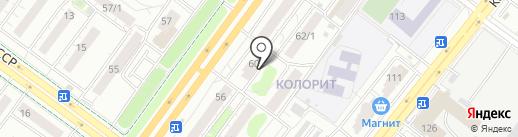 НСТ на карте Уфы