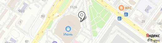 Телешко на карте Уфы