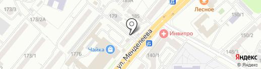 Магазин разливного пива на карте Уфы