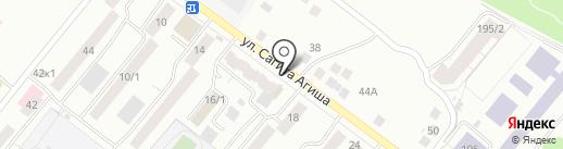 Лора на карте Уфы