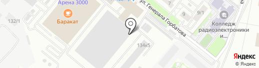 Аврора на карте Уфы