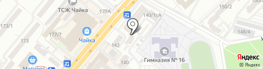 Домовенок на карте Уфы