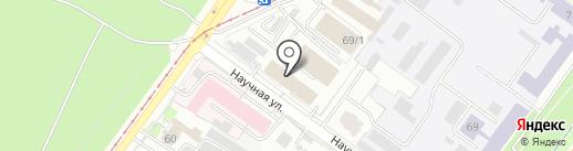 Биострой на карте Уфы