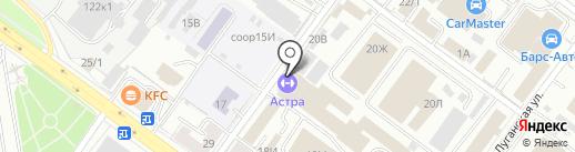 Федерация художественной гимнастики г. Уфы на карте Уфы