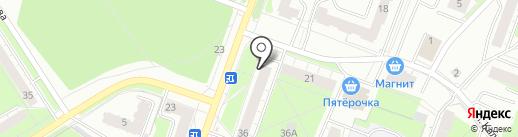 Магазин овощей фруктов на карте Перми