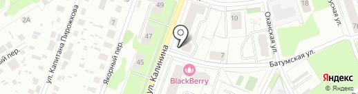 Хлебный дворик на карте Перми