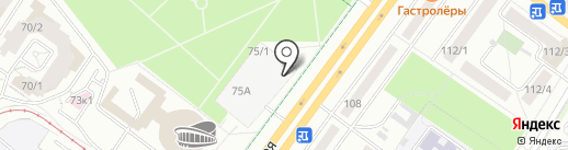 Aksakov Lounge на карте Уфы