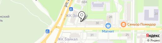 Шарлотка на карте Перми