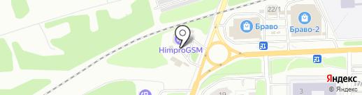 Городская автомойка на карте Перми