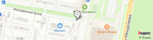 ISERVISE на карте Уфы