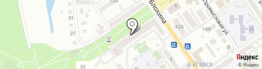 Malina на карте Ишимбая