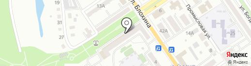 Главное бюро медико-социальной экспертизы по Республике Башкортостан на карте Ишимбая