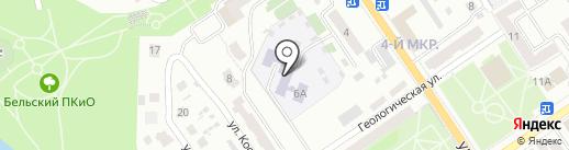 Детский сад №29 на карте Ишимбая