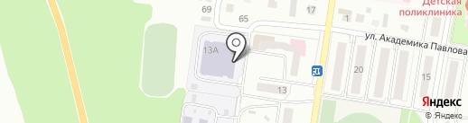 Станция юных техников на карте Ишимбая