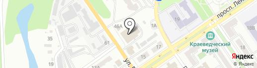 Ортикон на карте Ишимбая