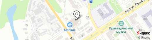 Мебель Юрматы на карте Ишимбая