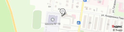 ДЮСШ №1 на карте Ишимбая
