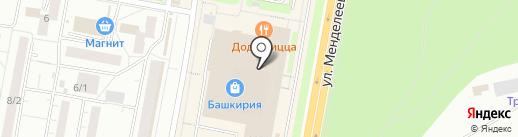 Охоче на карте Уфы
