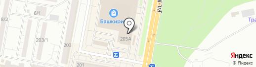 Steam Club на карте Уфы