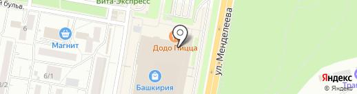 Буренка на карте Уфы