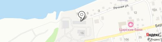 Альфа Неруд на карте Берега Камы