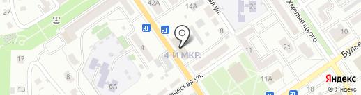 Ишимбайская, ФГБУ на карте Ишимбая