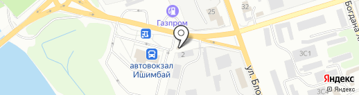 Колосок на карте Ишимбая