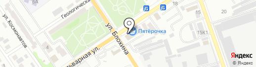 Евроджинс на карте Ишимбая