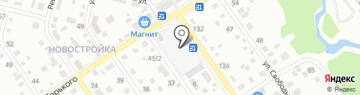 Спутник на карте Ишимбая