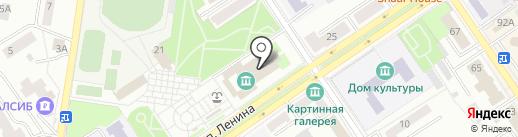 Отдел культуры муниципального района Ишимбайский район Республики Башкортостан на карте Ишимбая