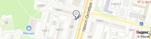 Анекс Тур на карте Уфы