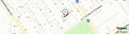 ТД Моторс Урал на карте Ишимбая