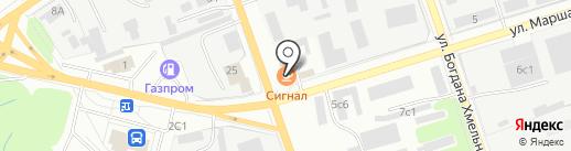 Сигнал на карте Ишимбая
