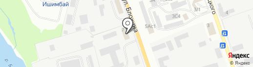 Единая телефонная городская служба г. Ишимбай на карте Ишимбая