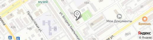 Компания по прокату инструментов на карте Ишимбая
