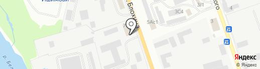 Ишимбайская ДЕЗ Республики Башкортостан, МУП на карте Ишимбая