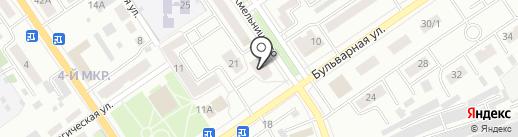 Мимоза на карте Ишимбая