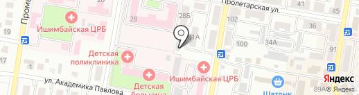 Автосервис на карте Ишимбая