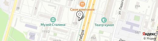 Маклер на карте Уфы