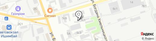 Мастер камня на карте Ишимбая