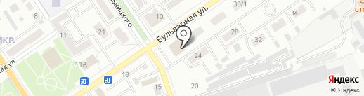 ЗАГС Ишимбайского района и г. Ишимбай на карте Ишимбая