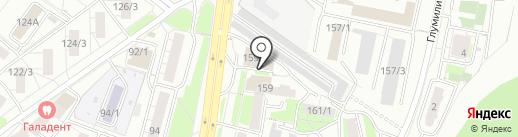 Швейная мастерская на карте Уфы
