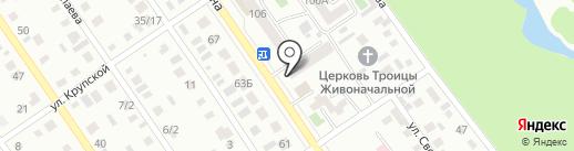 Мясной дворик на карте Ишимбая