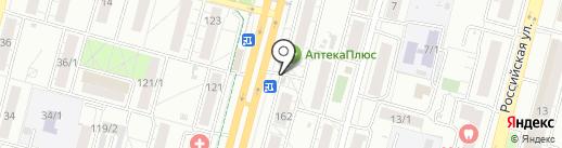Пункт продажи и пополнения автобусных транспортных карт на карте Уфы