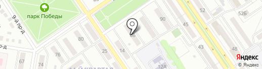 Золушка на карте Ишимбая
