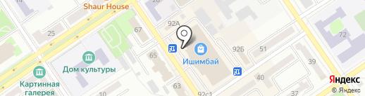Ишимбайская чулочная фабрика, ЗАО на карте Ишимбая