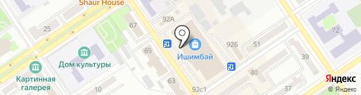 DNS на карте Ишимбая