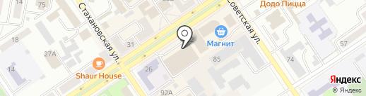 Магазин посуды на карте Ишимбая